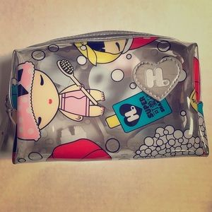 Harajuku lovers cosmetics bag pouch rectangle